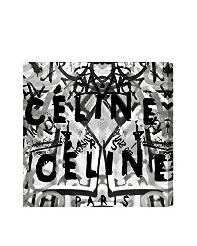 Oliver Gal Mode Du Paris Noir Canvas Art