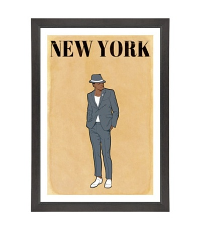 Oliver Gal Esquire Gentleman Framed Art