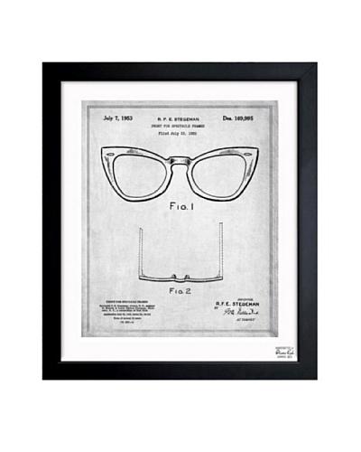 Oliver Gal 'Ray-Ban Wayfarer Spectacle Frame 1953' Framed Print