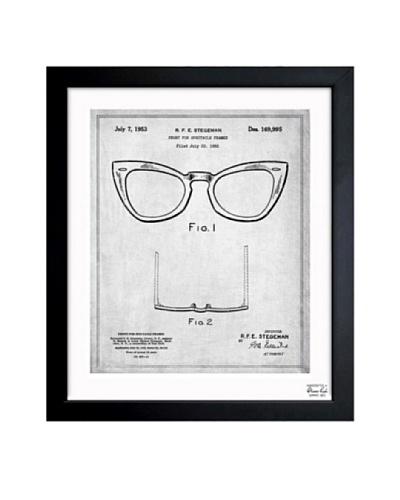 Oliver Gal Ray-Ban Wayfarer Spectacle Frame 1953 Framed Print