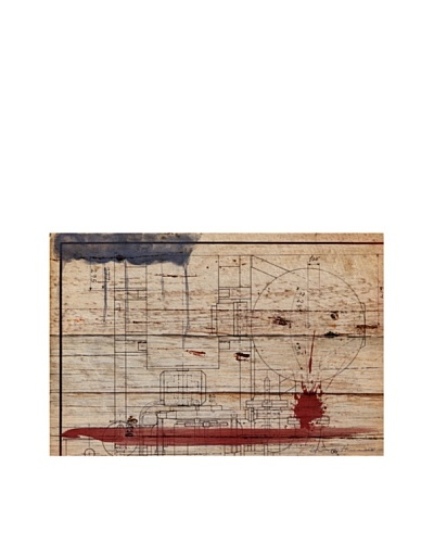 Oliver Gal 'Hatcher' American Reclaimed Wood Wall Art