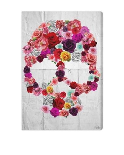 Oliver Gal Bed of Roses Giclée On Canvas
