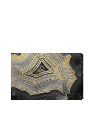 Oliver Gal Dubbio Geode Giclée On Canvas
