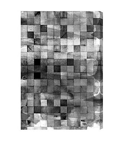 Oliver Gal Mosaic Smoke Canvas Art
