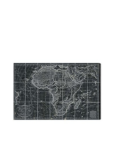 Oliver Gal Africa Map 1829 Canvas Art