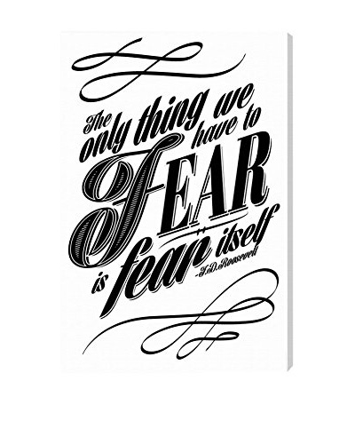 Oliver Gal The Fear Canvas Art