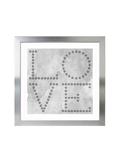 Oliver Gal Love Diamonds Framed Giclée Print