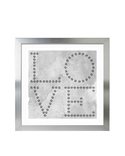 "Oliver Gal ""Love Diamonds"" Framed Giclée Print"
