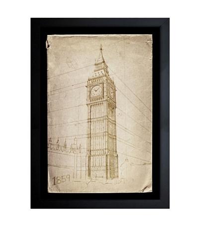 Oliver Gal Big Ben, 1859 Framed Giclée