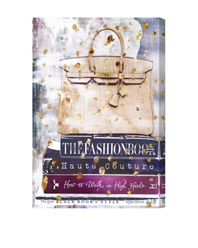 Oliver Gal Fashion A to Z Canvas Art