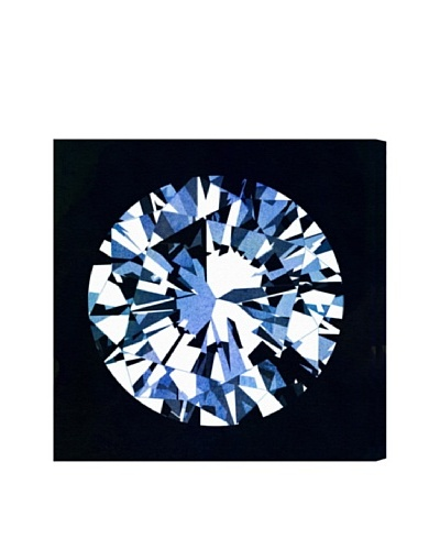 Oliver Gal Diamonds Are Forever Canvas Art