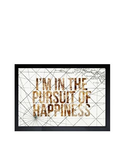 Oliver Gal Pursuit of Happiness Framed Giclée Print