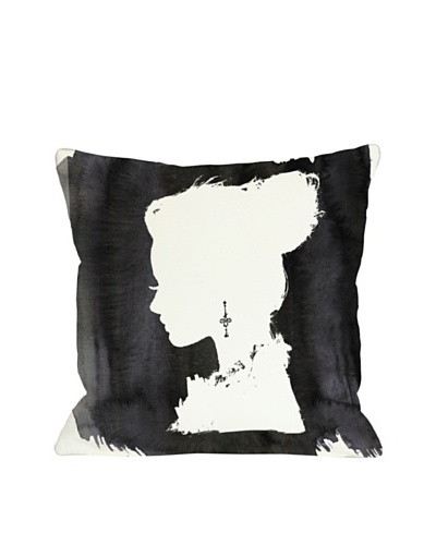 Oliver Gal by One Bella Casa Beaute Pillow, Black White
