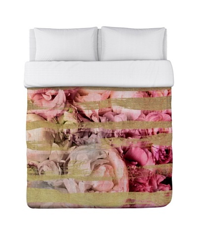 Oliver Gal by One Bella Casa Field of Roses Duvet Cover