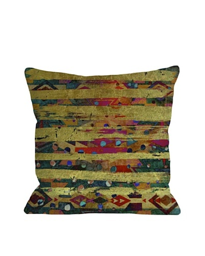 Oliver Gal by One Bella Casa Navajo Chief Square Pillow, Multi