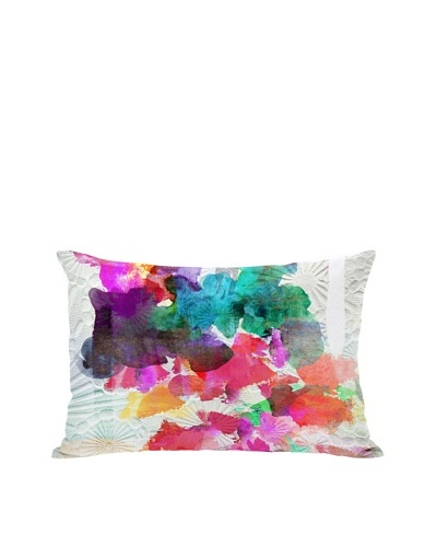 Oliver Gal by One Bella Casa Inside Her Eyes Boudoir Pillow, Multi Brights