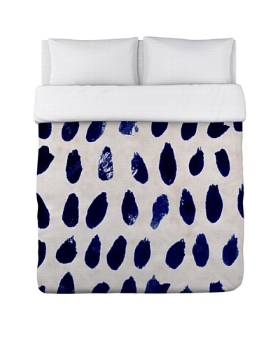 Oliver Gal by One Bella Casa Marismas Blue Duvet Cover