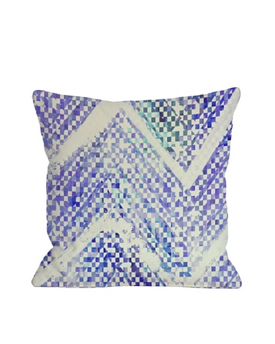 Oliver Gal by One Bella Casa Isolee Square Pillow, Blue Multi
