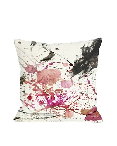 Oliver Gal by One Bella Casa Dawn of Times Pillow, Pink/Multi