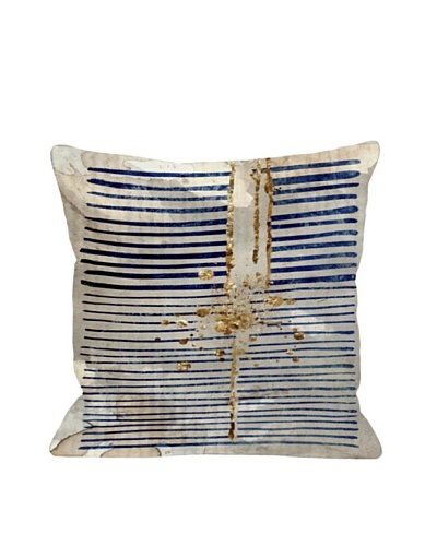Oliver Gal by One Bella Casa Love Force Field Pillow, Navy