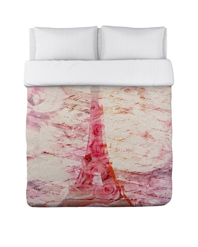Oliver Gal by One Bella Casa Love Letters Duvet Cover