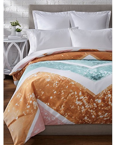 Oliver Gal by One Bella Casa Rayada Duvet Cover