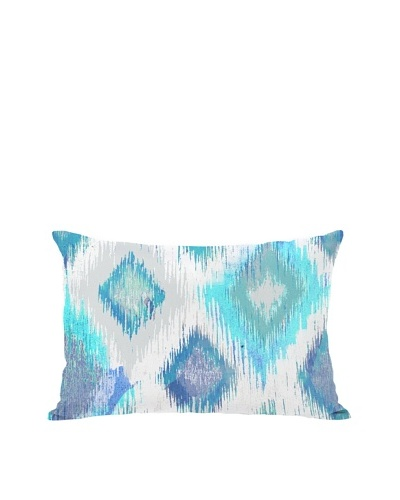 Oliver Gal by One Bella Casa Del Mar Boudoir Pillow, Ivory Blue
