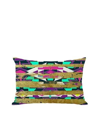 Oliver Gal by One Bella Casa Navajo Neon Boudoir Pillow, Neon Multi