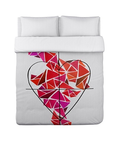 Oliver Gal by One Bella Casa Piece of My Heart Duvet Cover