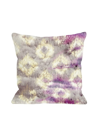 Oliver Gal by One Bella Casa Altaria Square Pillow, Pink Multi