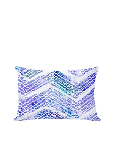 Oliver Gal by One Bella Casa Isolee Boudoir Pillow, Blue Multi