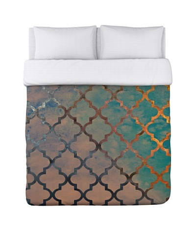Oliver Gal by One Bella Casa Amour Arabesque Duvet Cover