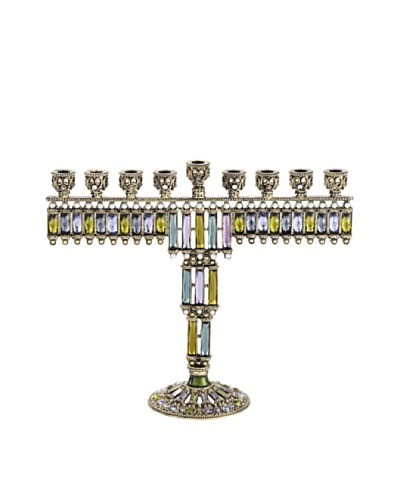 Olivia Riegel Rachel Menorah with Swarovski® Crystals