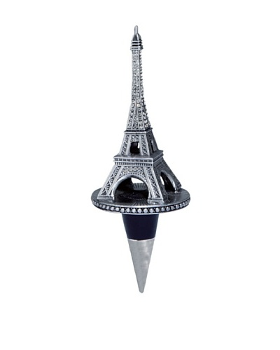 Olivia Riegel Swarovski Encrusted Eiffel Tower Bottle Stopper