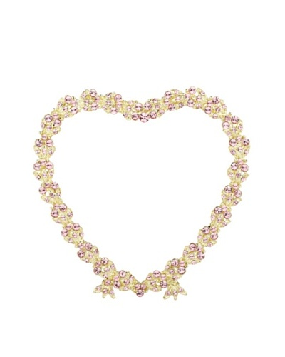 "Olivia Riegel Contessa Heart 3.5"" Frame with Swarovski Crystals"