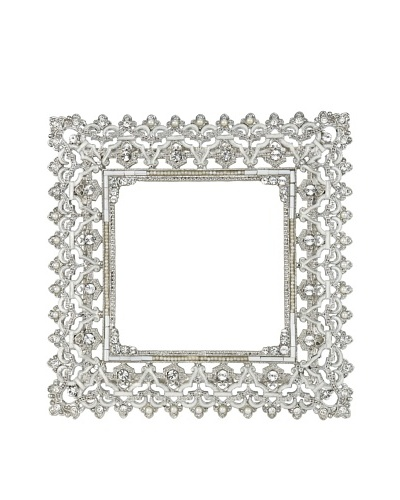 "Olivia Riegel Swarovski Encrusted 3.5"" x 3.5"" Noble Frame"