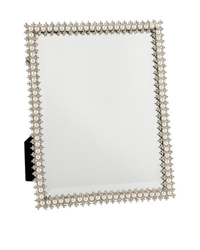 Olivia Riegel Swarovski Crystal & Pearl Standing Mirror