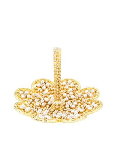 Olivia Riegel June Ring Holder with Hand Set Faux Pearls