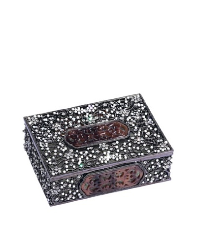 Olivia Riegel Swarovski Encrusted Queen Anne's Lace Box