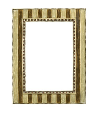 "Olivia Riegel Lana 5"" x7""Frame with Brown Pearls"