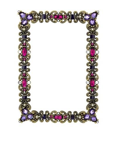 Olivia Riegel Amethyst Cambridge Frame with Swarovski® Crystals & Faux Pearls