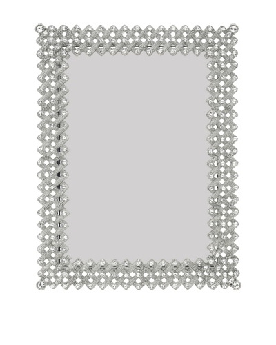 Olivia Riegel Lattice Frame with Swarovski Crystals [Silver]