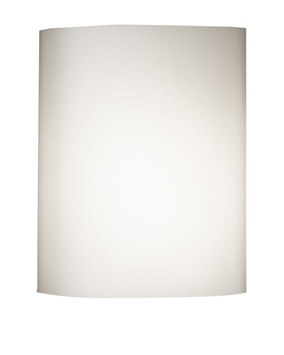Oluce Lusa 132 Wall/Ceiling Light, Flour