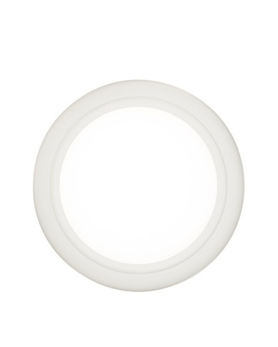 Oluce 1960 #164 Medium Wall/Ceiling Light, White