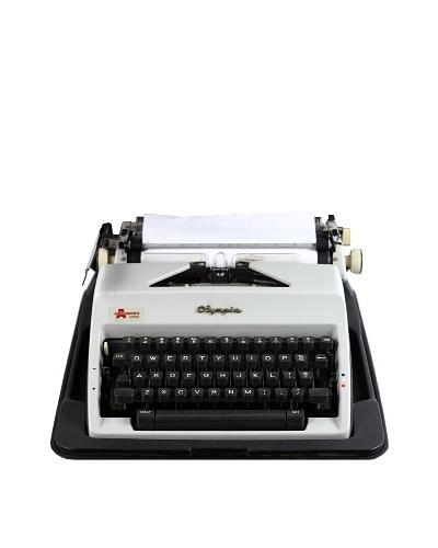 Olympia Vintage Typewriter, White