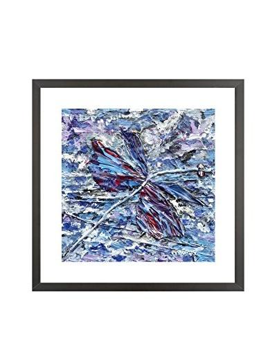 Omni Flying Over Alien Skies Limited Edition Framed Giclée
