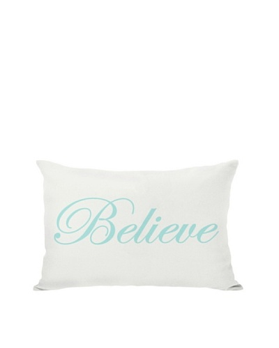 One Bella Casa Believe Reversible Pillow