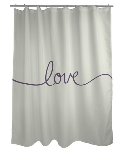One Bella Casa Love Shower Curtain
