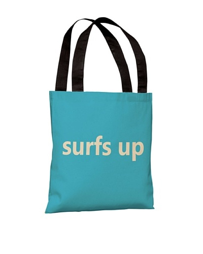 One Bella Casa Surfs Up Beach Tote