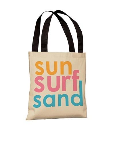 One Bella Casa Sun Surf Sand Beach Tote